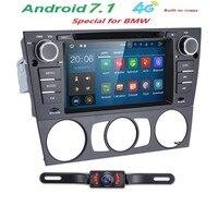 Quad Core 1024*600 Touchscreen Autoradio für BMW E90 Android 7,1 DVD E91 Wifi 4G GPS Bluetooth Radio SD Canbus Freie karte