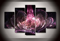5 Pcs Sets Flowers 3d Diamond Painting Round Diy Diamond Drill Diamond Embroidery Cross Stitch Home