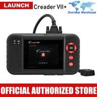 Launch X431 Creader VII Plus Car Diagnostic Tool Auto Scanner Engine Transmission ABS SRS Airbag Scan Tools Automotive Scaner