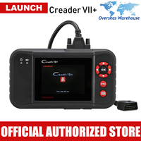 Launch X431 Creader VII Plus Car Diagnostic Tool Auto Scanner Engine Transmission ABS SRS Airbag Scan Tools Automotive Scaner