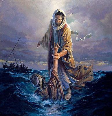 Top Art Oil Painting Morgan Weistling Our Refuge Jesus Christ Oil