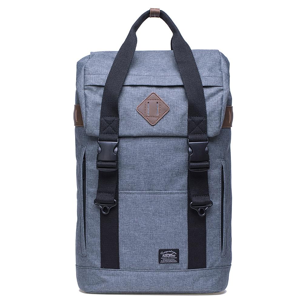 KAUKKO 2018 Fashion Vintage Men Women Backpacks 17 Laptop for 15 Notebook School Shoulder Bags for Teenagers Large Capacity kaukko fp84