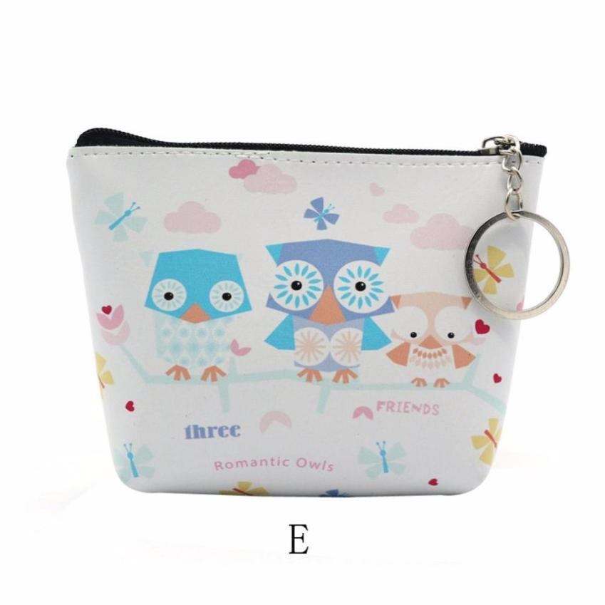 Hot Sale Women Girls Lady Leather Small Wallet Coin Purse Clutch Bag Sweet and simple style Mini Wallets