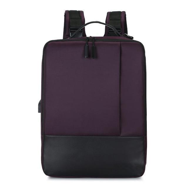 HTB1zrbuL4YaK1RjSZFnq6y80pXau - Premium Anti-theft Laptop Backpack with USB Port Multifunction