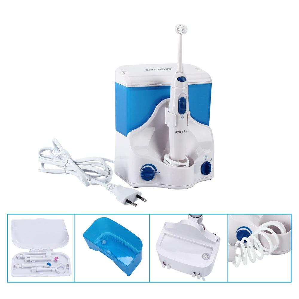 AZDENT XYQ-1 Pro Portable Électrique Oral Irrigator Eau Dentaire Flosser Rechargeable D'irrigation Brosse À Dents Jet La Soie Dentaire Blanchiment