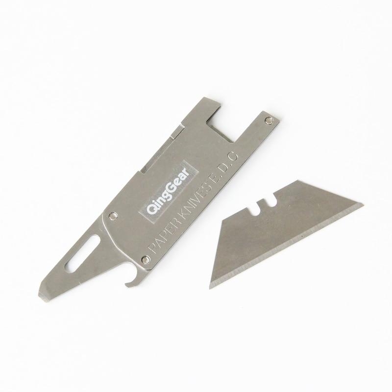 Kompaktowy wielofunkcyjny nóż papierowy W / żyletka płaski - Narzędzia ręczne - Zdjęcie 4