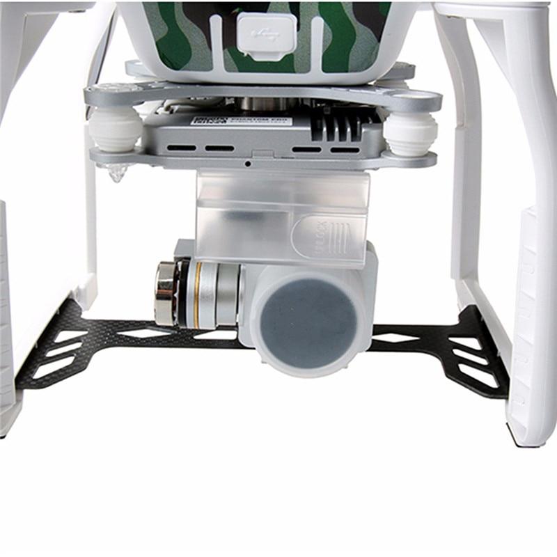 Phantom 3 Professional & Advanced Camera Transparent Lens Protection Cap Gimbal Protective Case For DJI Phantom 3 Pro & Adv
