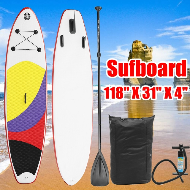 300cm*76cm*10cm inflatable surfboard Stand Up SUP paddle board inflatable surf board sup paddle boat