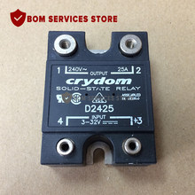 Fast Delivery D2425 Relay SSR 20mA 32V DC-IN 25A 280V AC-OUT 4-Pin(China)