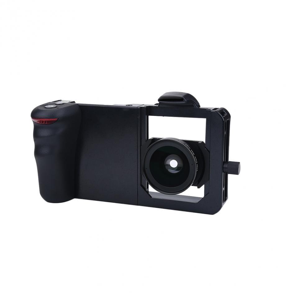 VBESTLIFE Universal Adjustable Handheld Stabilizer Rig Mount Kit Holder with Lens Filters for Smart Phone 2019