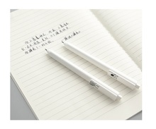 Set of 6 Japanese Cat Black Gel Pens