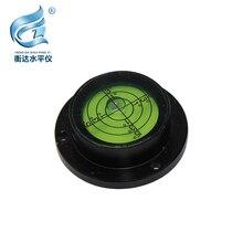Bull eye level Metal Shell Bullseye Level Measurement Instrument Universal Circular plastic bubble level vials bull s eye