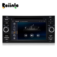 Beiinle Android 4.4.4  GPS Navigator DVD Radio  QUAD CORE 16G 2 Din Car 1024*600  for Ford Transit  Galaxy Focus  Mondeo Fiesta