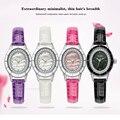 VILAM женщины часы Кварцевые Часы кварцевые наручные часы ремешки Японии батареи ТОП циферблате Бриллиантовое колье Женщин Смотреть