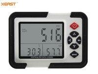 HT 2000 цифровой CO2 монитор CO2 газовый анализатор детектор 9999ppm CO2 анализаторы с Температура и влажности Тесты