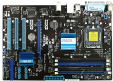 Free shipping 100% original motherboard for  P5P41C LGA 775 DDR2/DDR3 P5 Desktop motherborad Solid state power supply