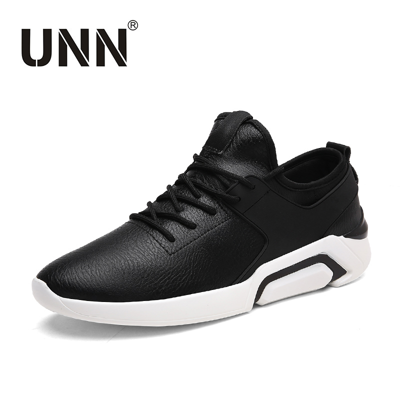 UNN Fashion Air Cushion Shoes Height Increase Shoes Men Casual Shoes PU Lace-up Sneaker Men Plus Szie men s shoes fashion breathable air cushion casual shoes men lace up red blue spring autumn walking jogging shoes mens trainers