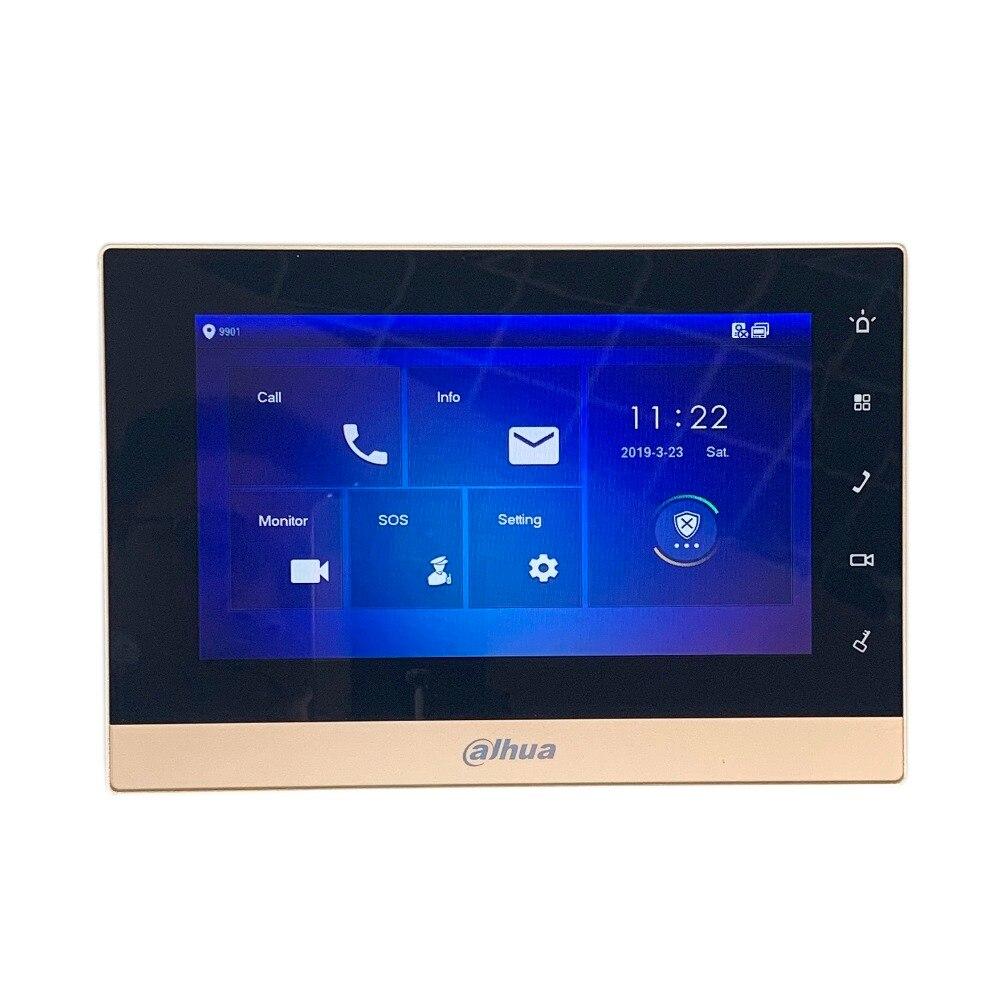AHUA Multi-Langue CE VTH1550CH 7-pouces Tactile Moniteur D'intérieur, International verision, IP sonnette, vidéo Interphone, filaire sonnette - 5