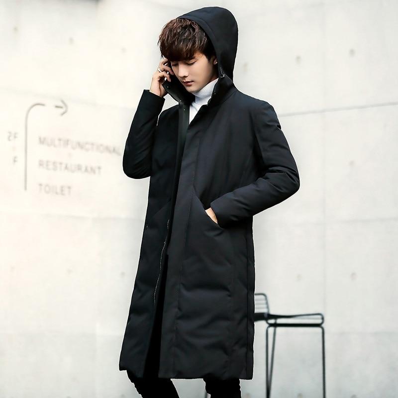 Лучший подарок, теплая куртка, зимняя, для кемпинга, черная, мужская, Толстая куртка, зарядка, одежда, китайская фабрика, размер M XXL - 3