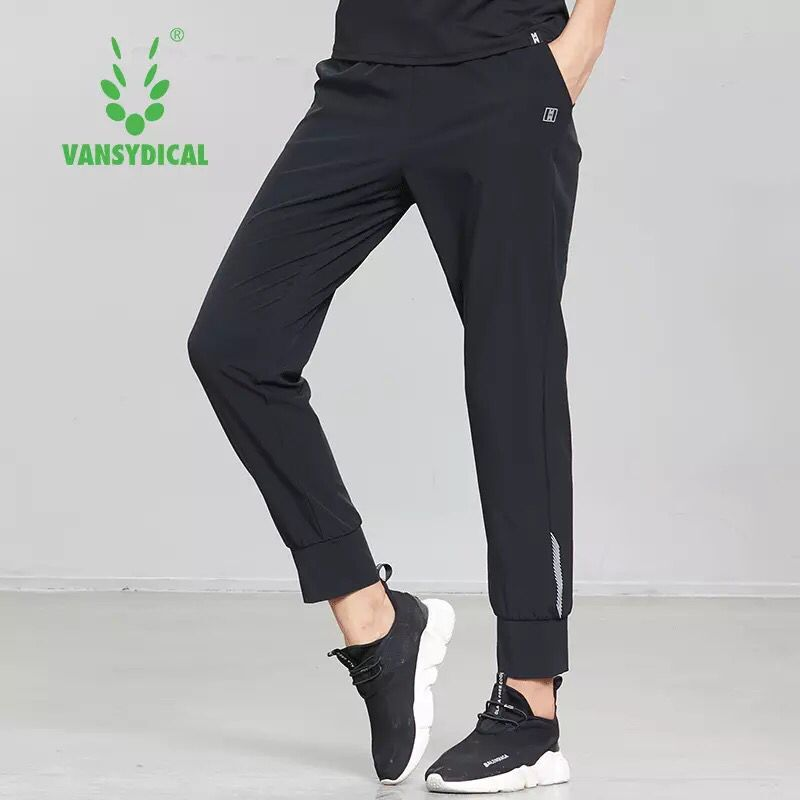 Women Running Pants Fitness Gym Training Jogging Trousers Elastic Waist Sport Pants Sportswear Workout Breathable Sweatpants