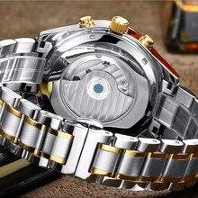 LIGE Men's Top Luxury Brand Automatic LIGE9830
