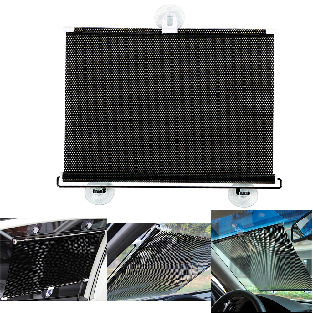 <font><b>Car</b></font> Curtains For Side Window Sunshade Interior Accessories Folding Black 40 x 60CM <font><b>Car</b></font> Styling UV Protection <font><b>Car</b></font> Sun Shade