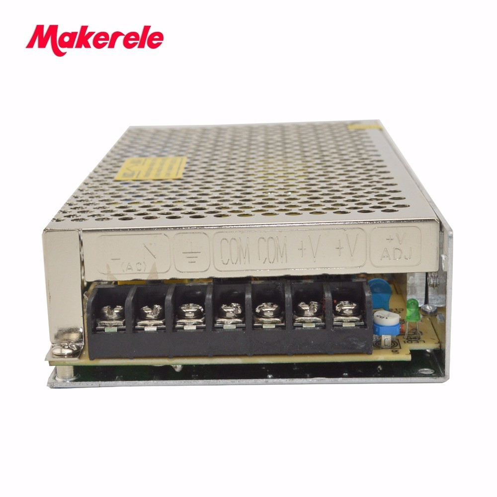 woderful universal input voltage 100W single output Switching Power Supply from makerele manufacturer S-100-27 universal input power supply 48v 100w din lp 100 48 switching power without the function of measuring