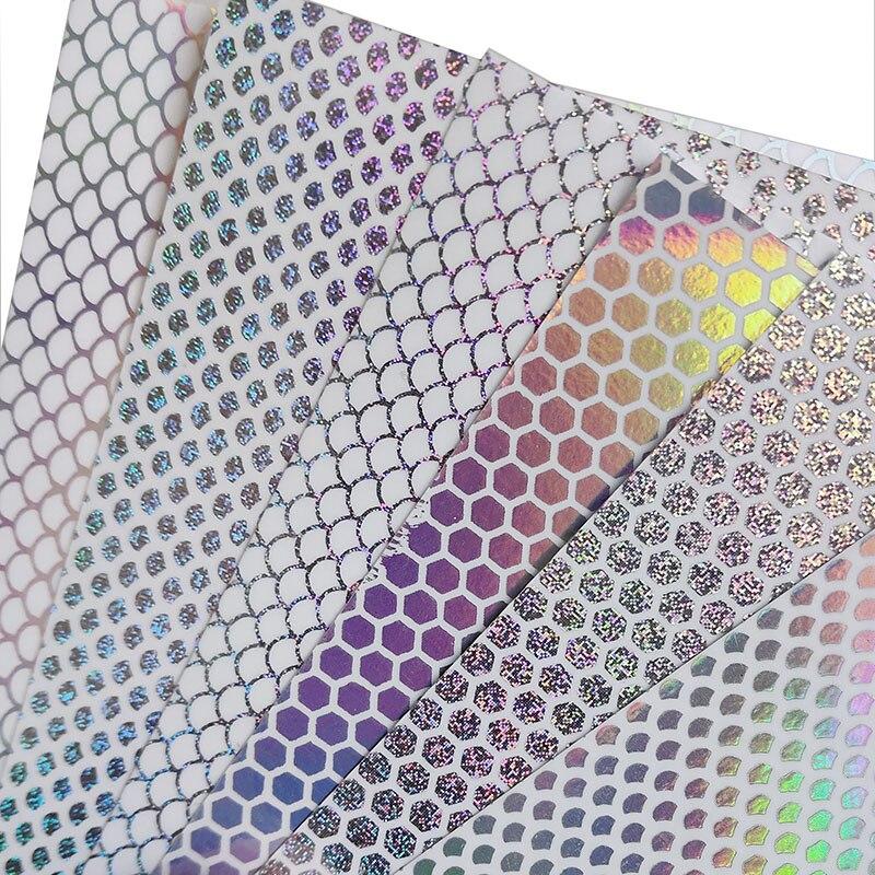 Рыболовные наклейки для приманок 10 шт./лот 10х10см радужные лазерные рыбные весы сотовая прозрачная голографическая наклейка Аксессуары для рыболовных приманок|Наживки|   | АлиЭкспресс