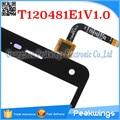 Sensor de toque para o zte blade l3 painel digitador da tela de toque cabo flex: t120481e1v1.0