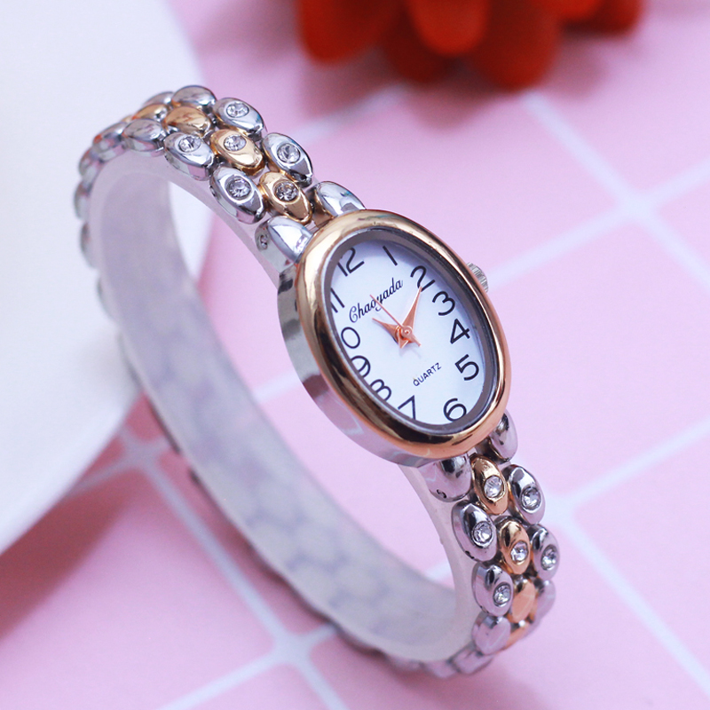 2018 women office ladies diamond Hand catenary quartz College students girlfriend holiday gift rose gold fashion bracelet watch|Women's Watches| |  - title=