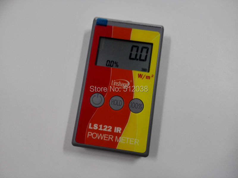 IR Infrared Power Meter Tester ,Solar Power Meter , Spectral wavelength Power Meter  цены