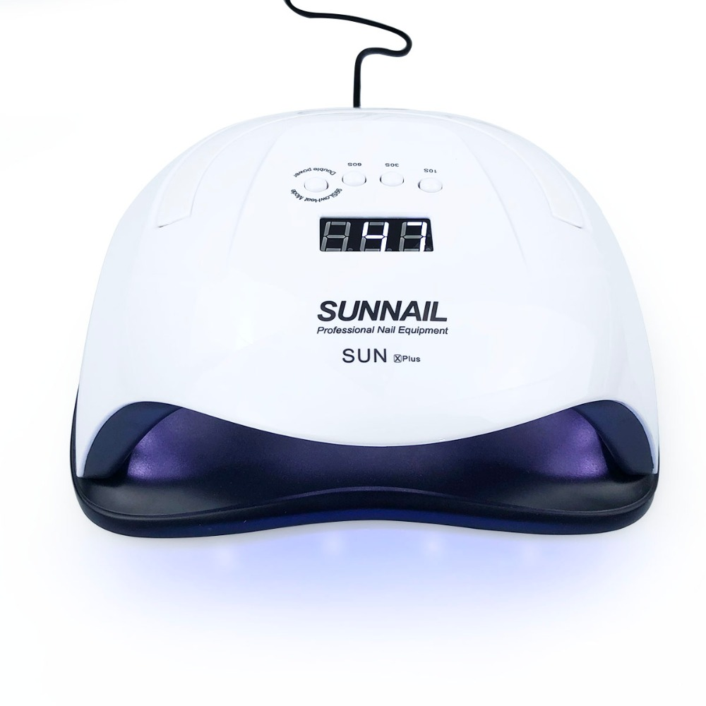 SUN X Plus 80W 42pcs Hybrid LED Lamp Nail Dryer Nail Art Lamp for Gel Polish Nail Care Gel Nail UV LED Light 10/30/60/99s TimerSUN X Plus 80W 42pcs Hybrid LED Lamp Nail Dryer Nail Art Lamp for Gel Polish Nail Care Gel Nail UV LED Light 10/30/60/99s Timer