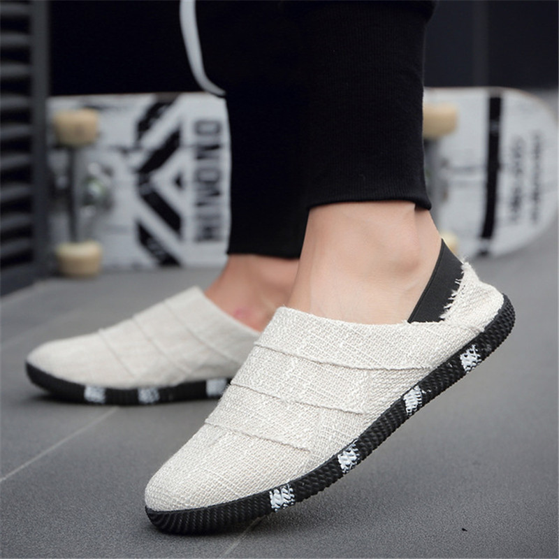 Men Casual Shoes Summer Man Sneakers Men Shoes Lace-Up Outdoor Shoes Adult Footwear Moccasins Male Business Driving Shoes 2019
