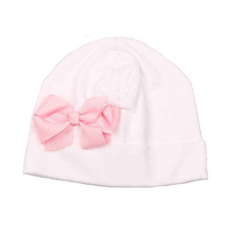 Soft Cotton Baby Girl Hat Newborn Hospital Beanie Cap Infant Spring Hat Children Head Accessories Baby Gift SW166