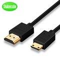Высокоскоростной мини HDMI к HDMI кабель 1 м 1,5 м 2 м 3 м 5 м Папа к мужчине 4 к 3D 1080P для планшета видеокамеры MP4 мини HDMI кабель