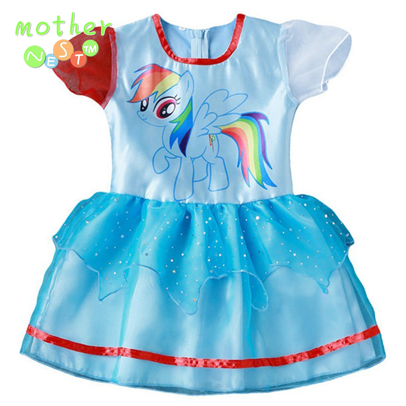 Online Shop New Hot Sales My Girl Dress Children Girl Cartoon Little ...