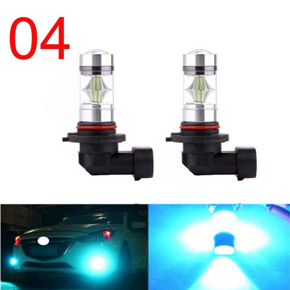 H10 H4 H7 H11 H1 H3 9005 9006  Car Vehicle LED Ice Blue Safe Driving Fog Light High Power 100W 8000K