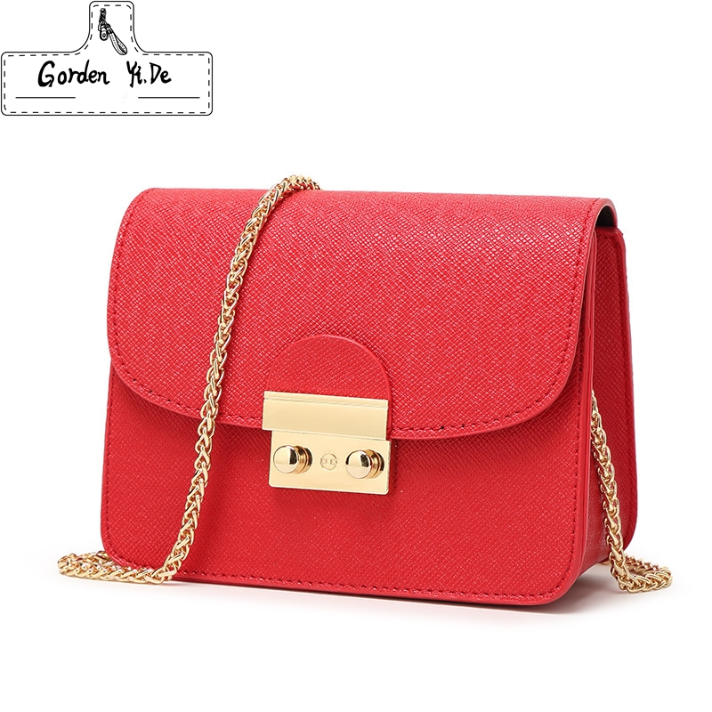 Gorden Yi De New Small Women Messenger Bag Clutch Bags Good Quality Mini Shoulder Bag Women Handbags Crossbody Bags Hot Sale hot sale 2017 vintage cute small handbags pu leather women famous brand mini bags crossbody bags clutch female messenger bags