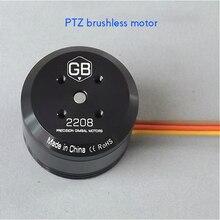 T-MOTOR GB2208 Alta Precisão Torque Do Motor Brushless PTZ 0.6kg.Cm/3 S Motor Brushless Para Handheld Câmera/Reparo do Zangão motor