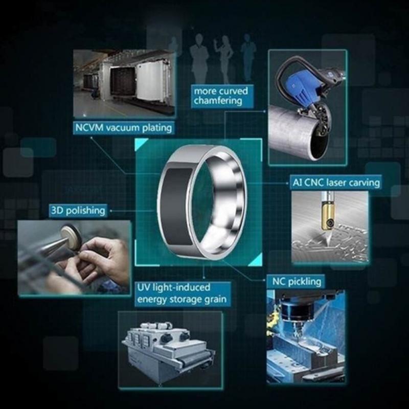 NFC Multifunctional Waterproof Intelligent Smart Ring 10