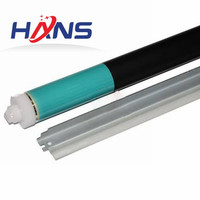 1Set. Long LIfe Drum Cleaning Blade+OPC Drum for Canon Copier IR 2016 2018 2020 2022 2025 2030 2318 2320 2420