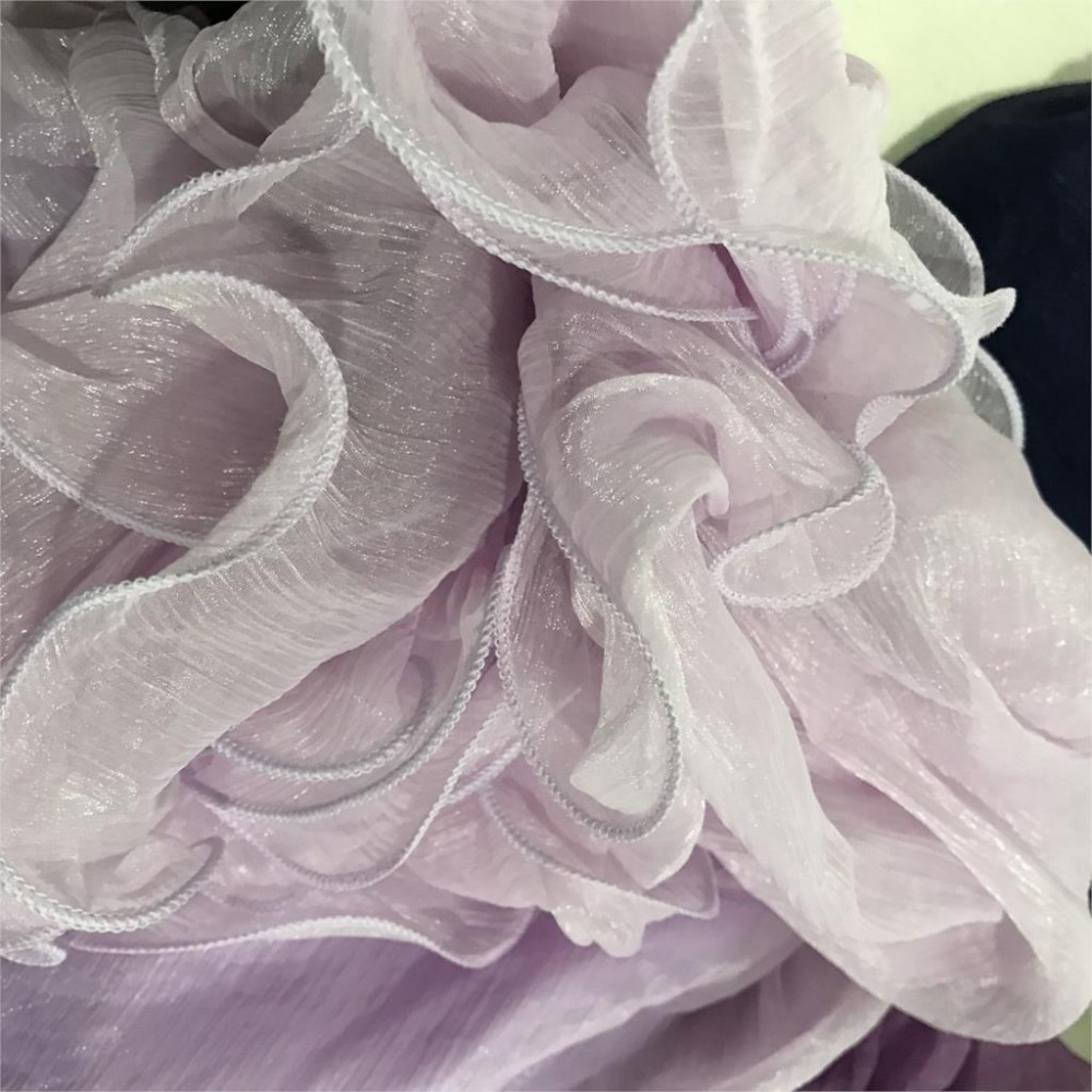 Sherhure 19 High Waist Women Chiffon Long Skirts Floor Length Ruffles White Summer Boho Maxi Skirt Saia Longa Faldas 8