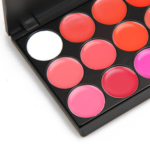 High Quality 15 Color lipgloss Cosmetic Makeup Lipstick Palette Lipgloss Lips Lip Pigment Lip Palette Set #BSEL
