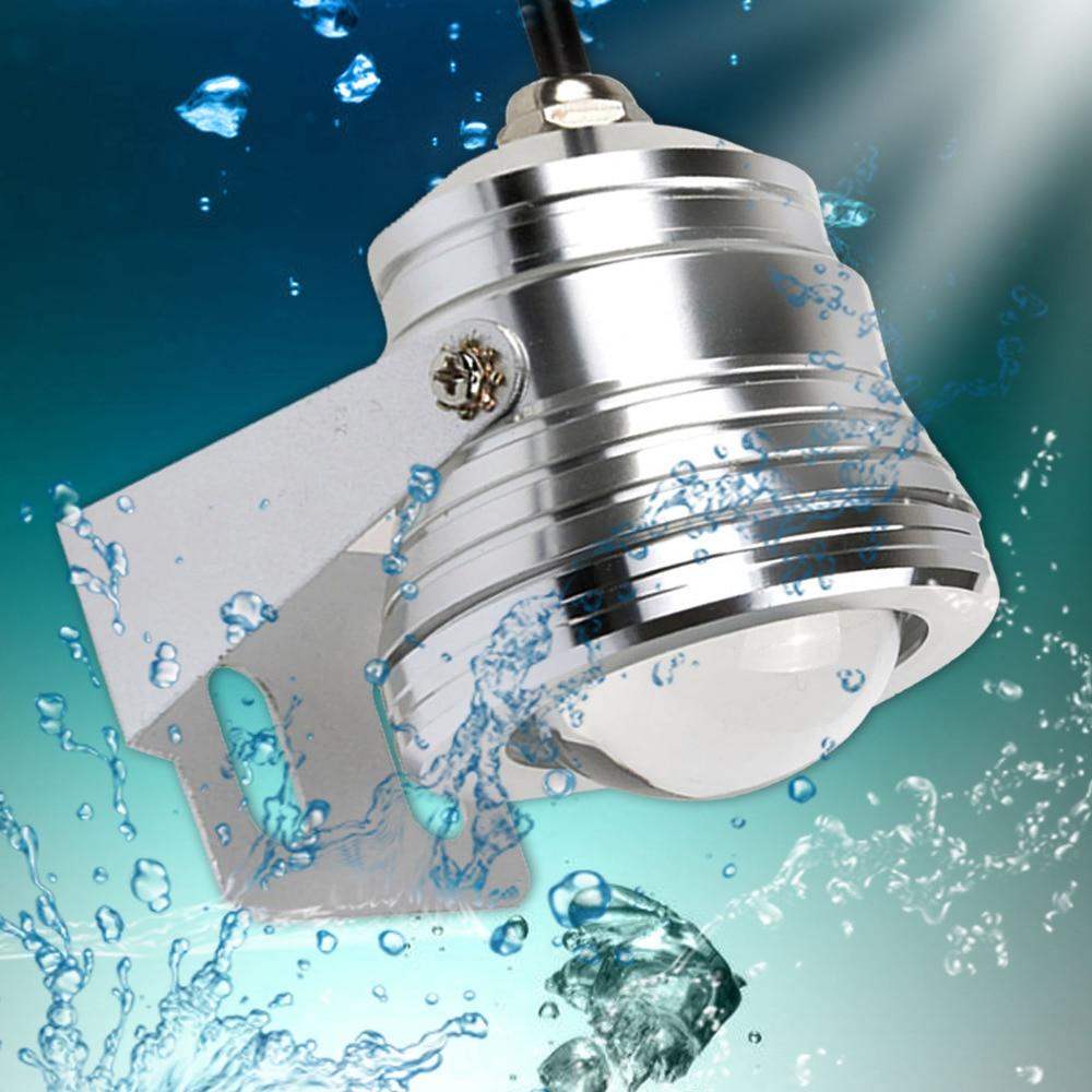 1 Satz Außen 10 Watt Rgb Unterwasser Led Spot Licht Flutlicht Farbwechsel Lampe Ip68 + 24 Schlüssel-controller Für Garten