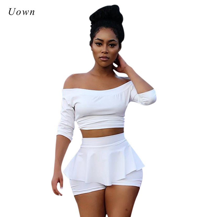 aliexpress  buy white two piece set women suit autumn