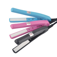 Professional Electric Mini Hair Straightener Efficient Electric Hair Straightener Ceramic electric splint ion perm Portable