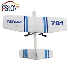 RC Plane EPP Foamed CESSNA 781 plane 2ch Remote Control glider airplane/aerodone RC mini soaring aeroplane toy