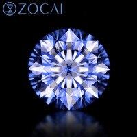 ZOCAI HRD сертификат 101 грань diamond 0.24 CT/VVS2 алмазе