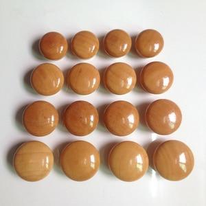 Image 4 - 10 cái/lốc Gỗ Knobs Bằng Gỗ Nội Drawer Xử Lý Tủ Quần Áo Cửa Kéo Xử Lý cho Đồ Nội Thất Caninets Tay Cầm Bằng Gỗ với các Ốc Vít