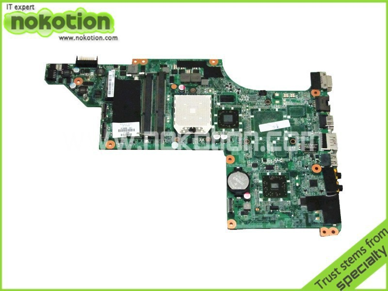 NOKOTION 615688-001 laptop motherboard For hp pavilion DV7 DV7-4100 DDR3 full tested Mainboard laptop motherboard 574681 001 fit for hp pavilion dv7 3060ca dv7 3000 series notebook pc main board 100% working